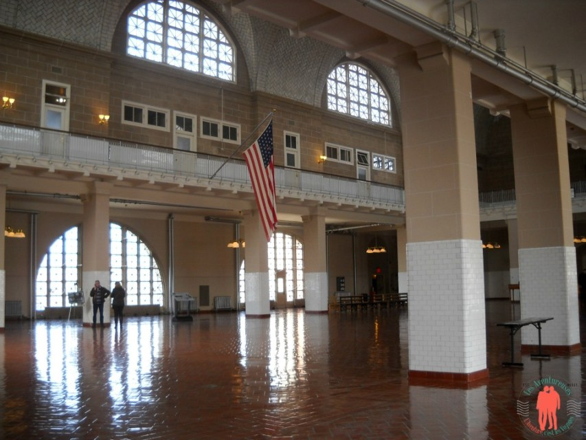 Intérieur du musée Ellis Island