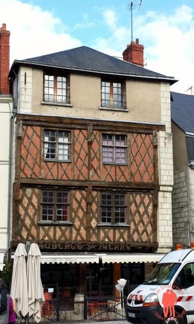 Architecture pan de bois Visiter saumur