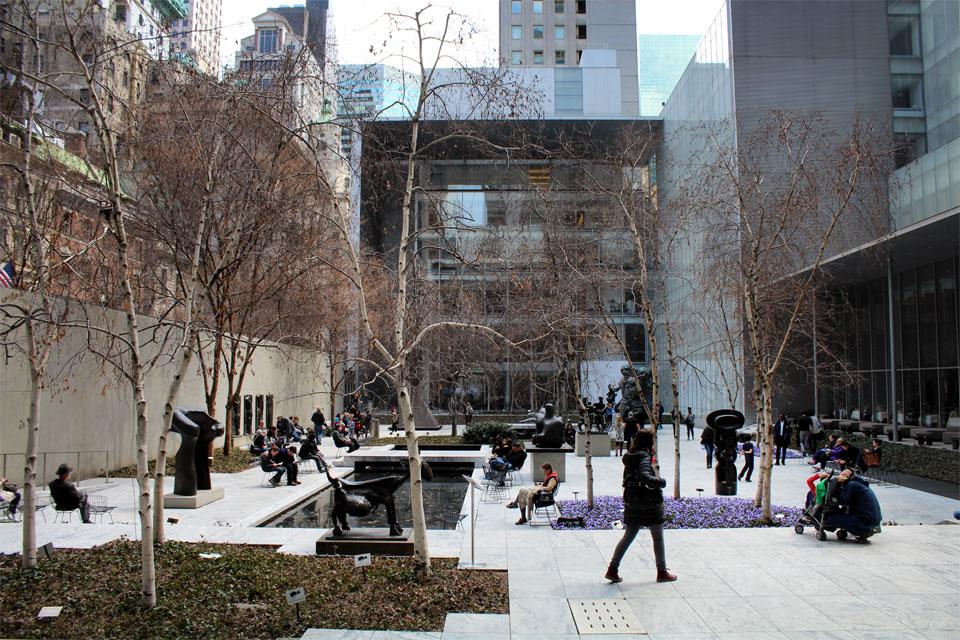 MoMa New-York - Jardins des Sculptures