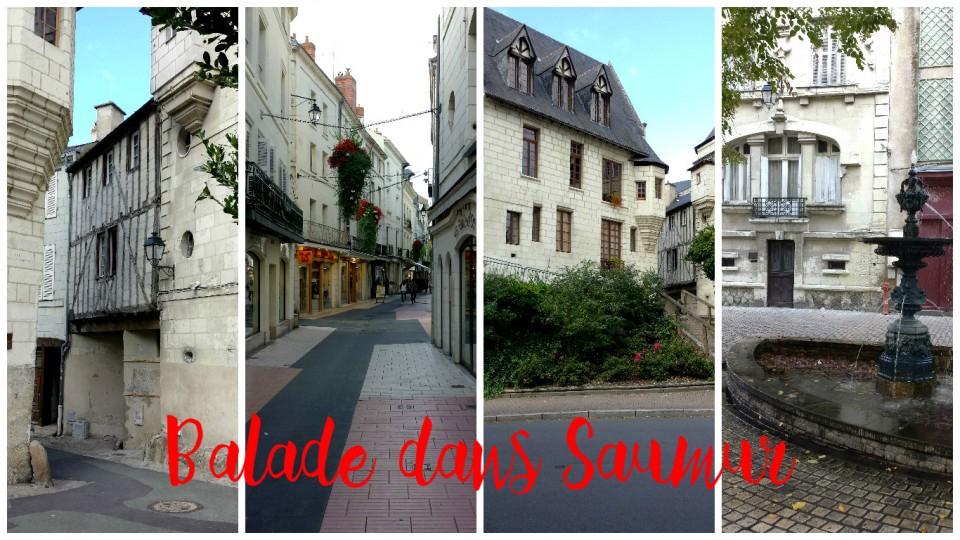 Visiter Saumur Balade dans les rues