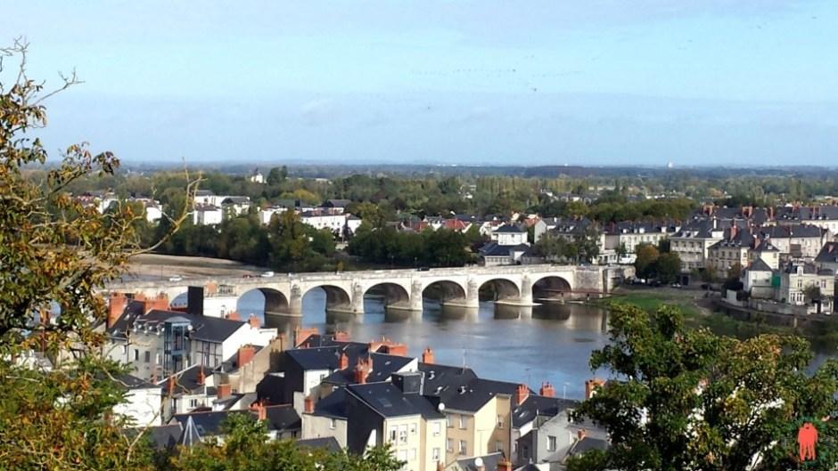 Visiter Saumur : Vue depuis le Château de Saumur