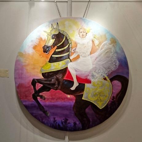 Claudine Carbonez Peinture Guerre et Paix