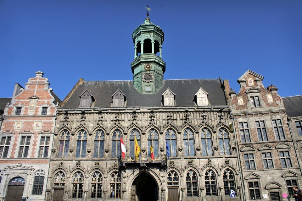 Hôtel de ville Mons Belgique
