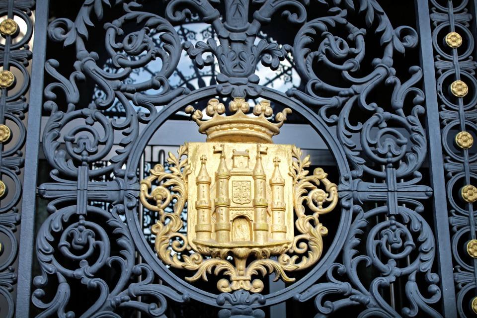 Mons Belgique Blason Porte Hôtel de ville