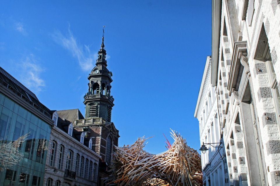 Sculpture The Passenger Mons Belgique