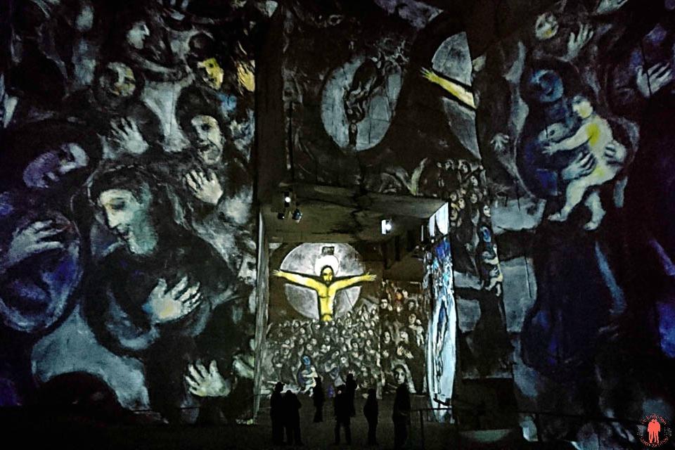 Carrières de lumières Chagall Religion 3