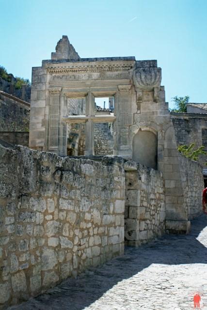 Les baux de Provence - Ancien village ruine