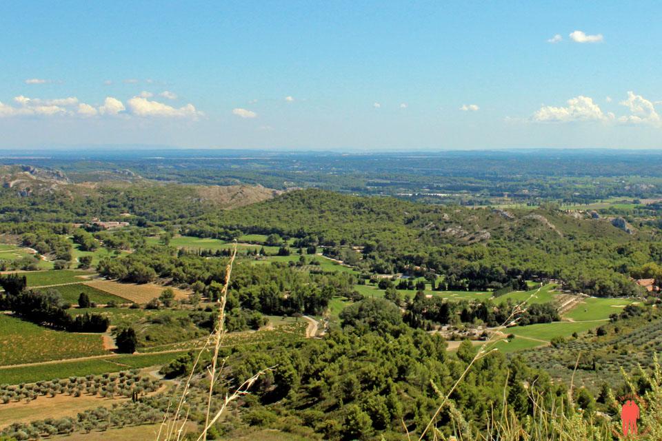 Les baux de Provence - Panorama vue du Piton Rocheux 2