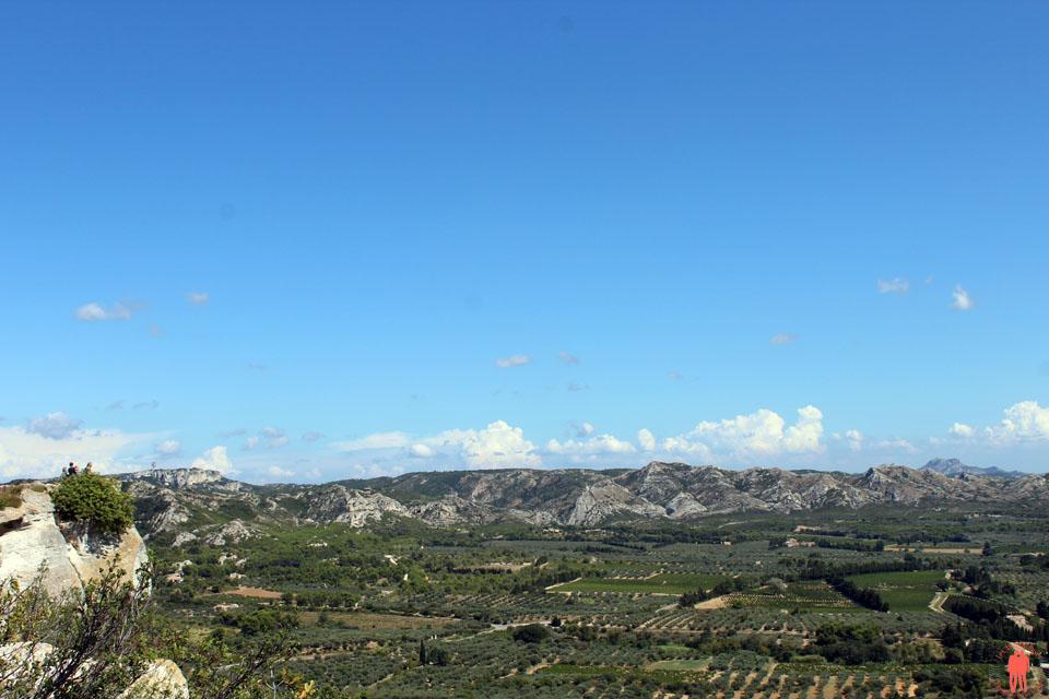 Les baux de Provence - Panorama vue du Piton Rocheux