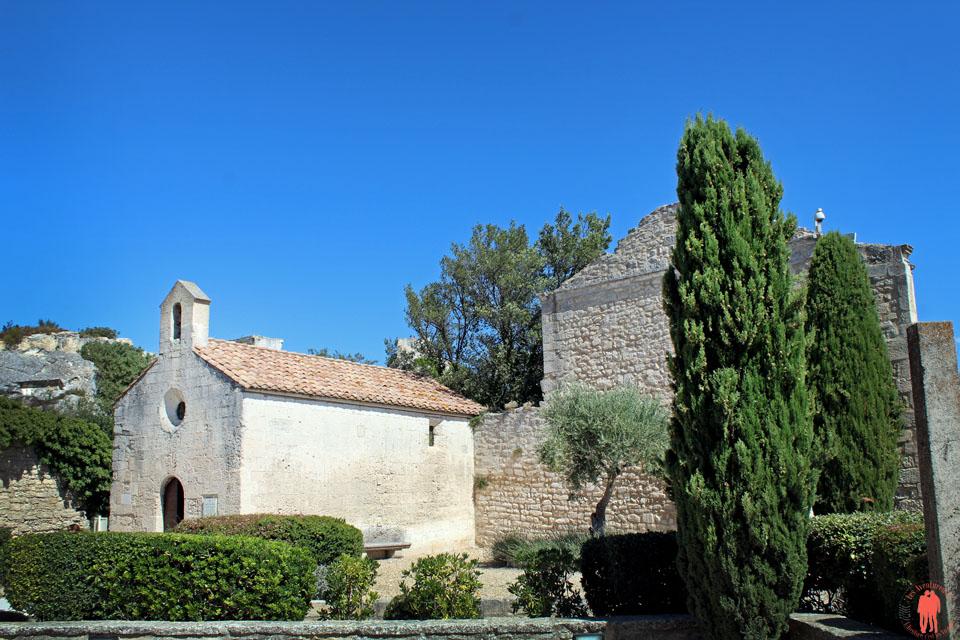 Les baux de Provence - Vue église