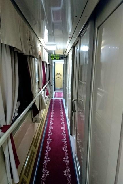 Couloir Train russe 2 - Prendre le train en Russie