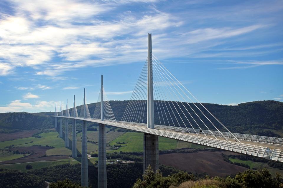visiter l'Aveyron - Viaduc de Millau