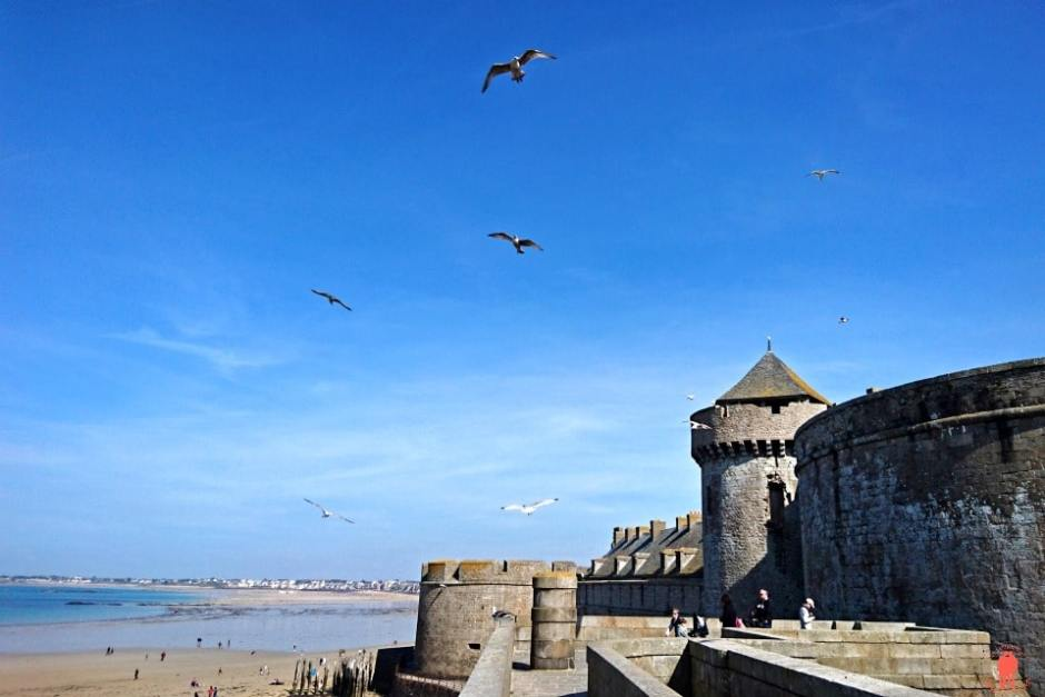 Rempart 1- Visiter Saint-Malo
