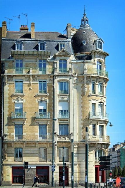 Batiment rennes Art Nouveau - Visiter Rennes