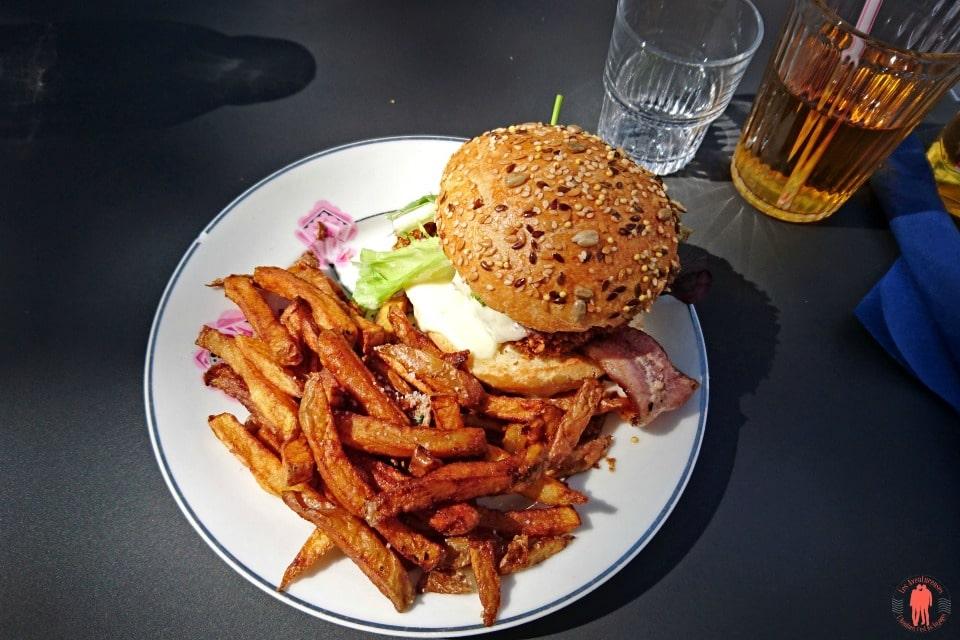 Café Cantine Les Grands Gamins - Hamburgers - Visiter Rennes
