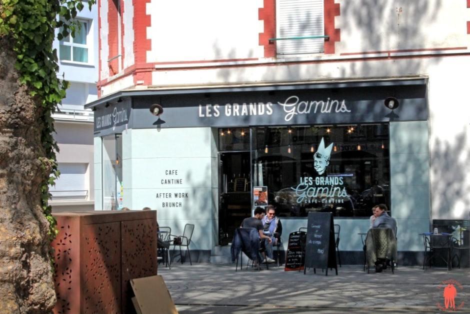 Café Cantine Les Grands Gamins - Visiter Rennes