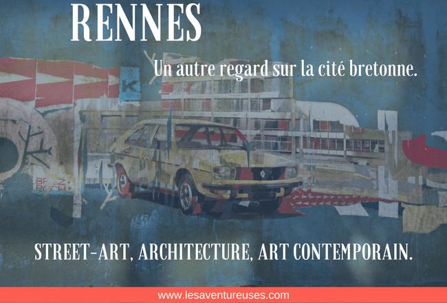 Visiter Rennes - Illustration Blog