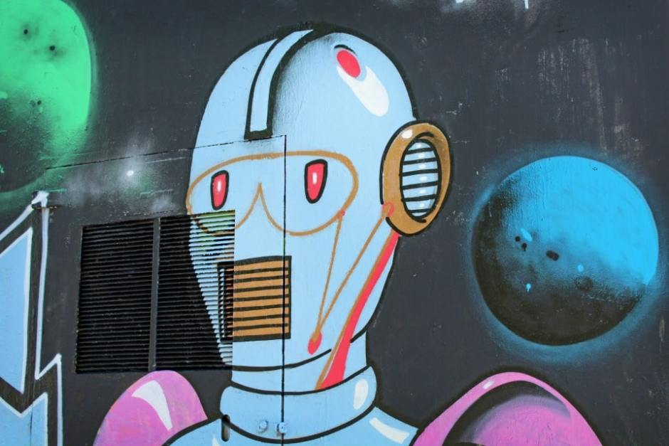 Visiter Rennes - Street-Art Robot