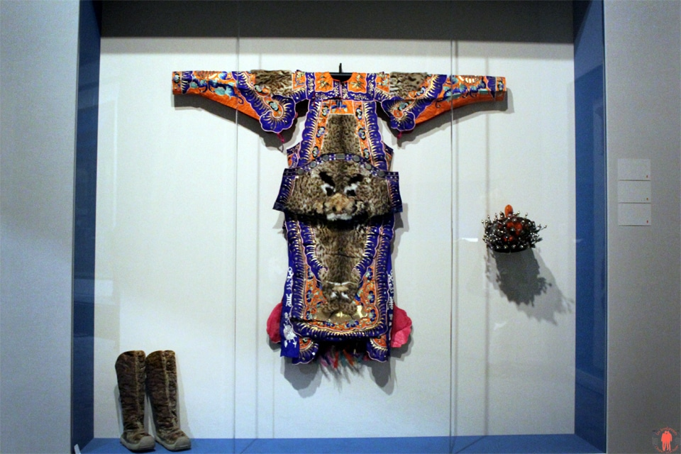 Costume d'opéra, Dynastie Qing - Cité Interdite à Monaco