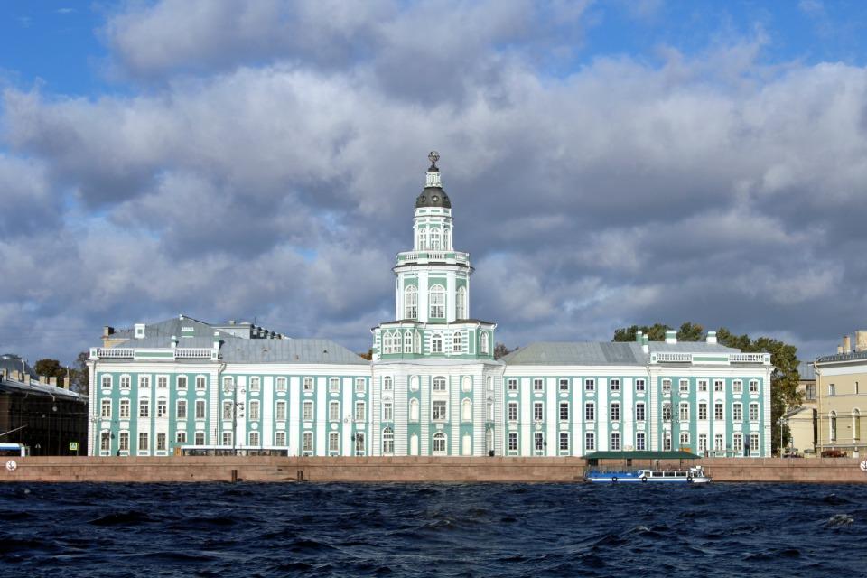 Visiter Saint-Pétersbourg - Kunstkamera