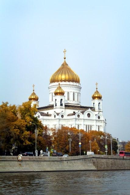 Visiter Moscou Moskova Cathedrale du Christ le Sauveur