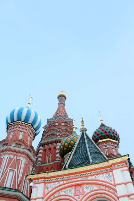 Visiter Moscou cathedrale Saint-Basile