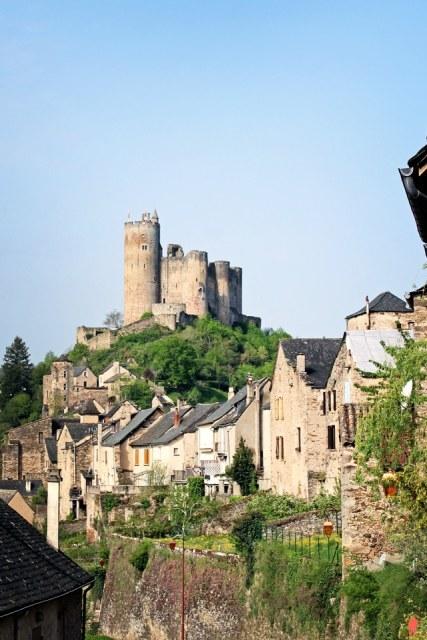 Chateau - Najac pres de Villefranche de Rouergue