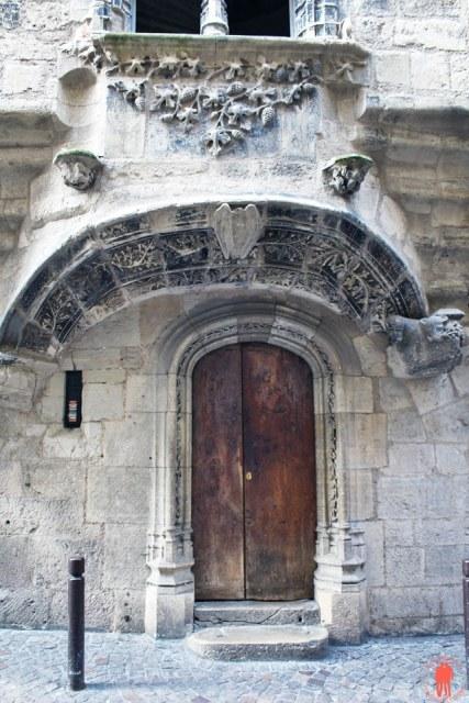 Porte Maison Gaubert Villefranche-de-Rouergue