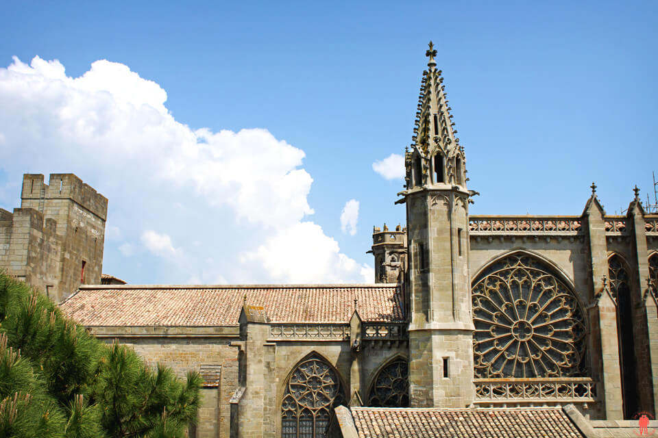 Cathedrale Cite Carcassonne - Châteaux Cathares