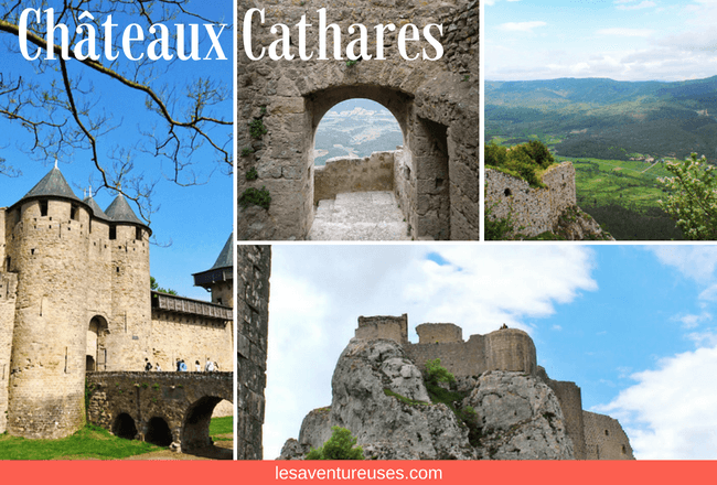 Illustration Guide Aude Chateaux Cathares