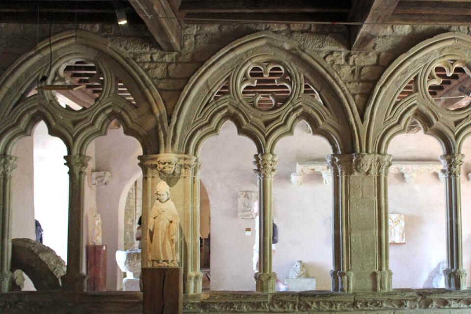 Interieur château comtal Carcassonne châteaux-cathares