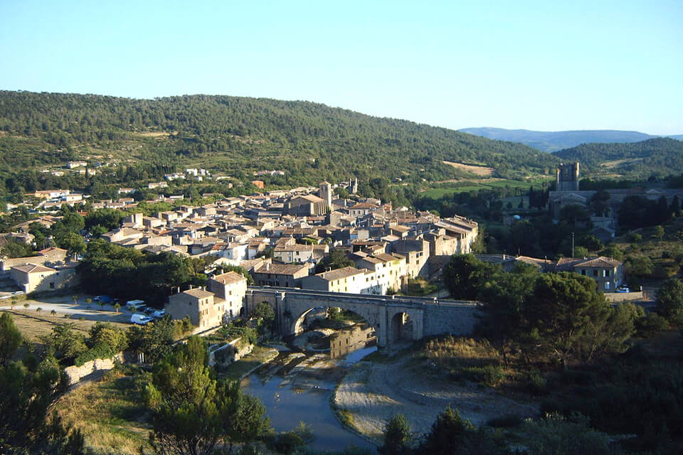 Lagrasse - Plus beau village de France - Chateaux Cathares