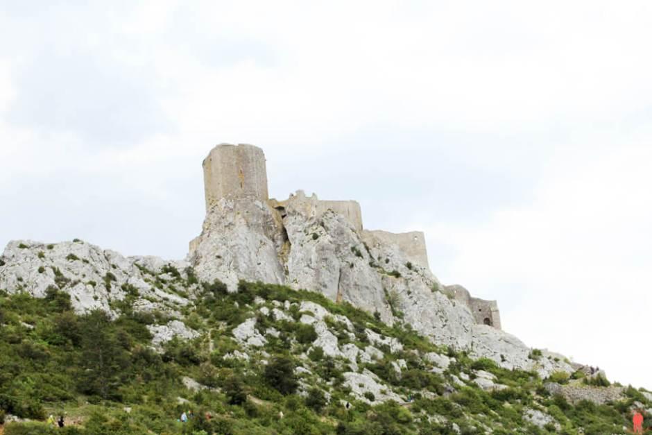 Quéribus Aude - châteaux cathares