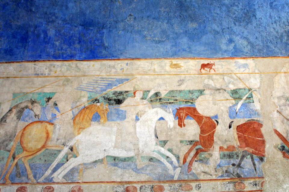 illustration château comtal Carcassonne châteaux Cathares