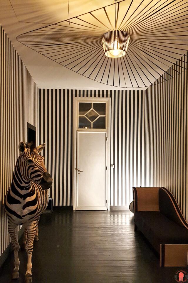 Couloir menant aux chambres Villa Paula Tourcoing