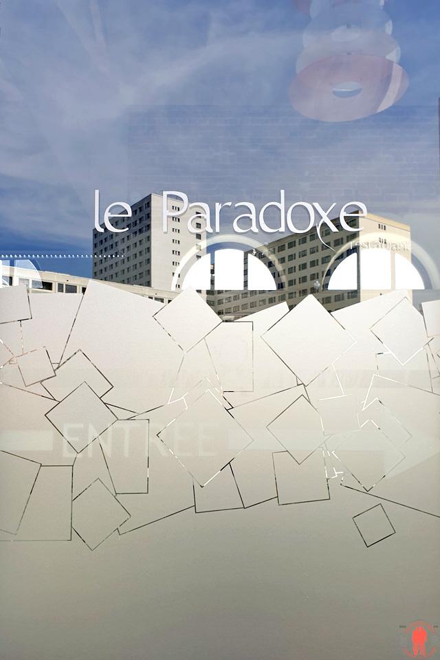 Entrée du restaurant Le Paradoxe à Tourcoing près de Roubaix
