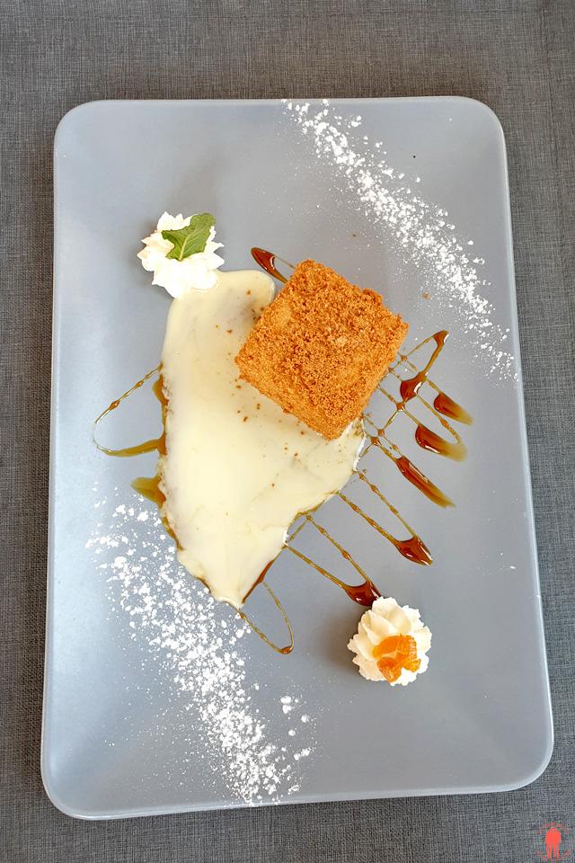 Dessert au speculoos au restaurant le paradoxe à Tourcoing Près de Roubaix