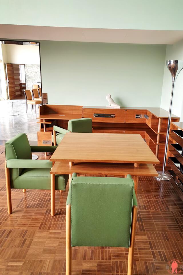 Salon de la Villa Cavrois Croix