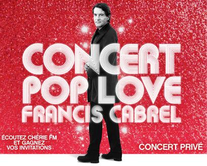 Concert-Francis Cabrel