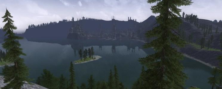 Album – La rive ouest de l'Emyn Uial