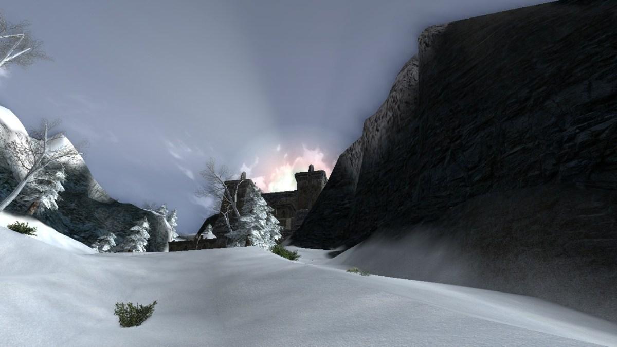 Edhelion: la porte nord