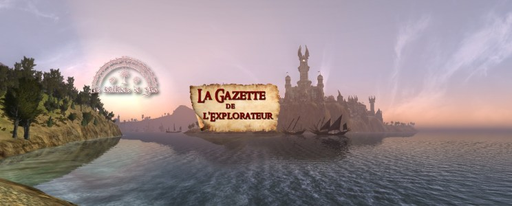 La Gazette de l'explorateur: Septembre 2016