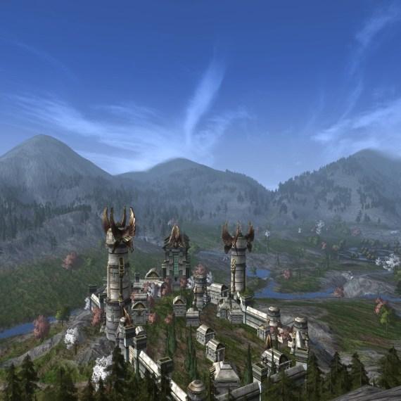 La traversée du Gondor (1/2)