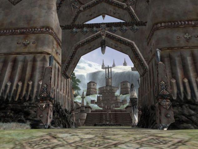 Les portes du Palais de Thorin, version Alpha