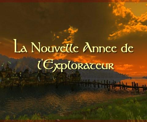 La nouvelle année de l'Explorateur