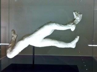 Rodin, étude de danse. Jeté