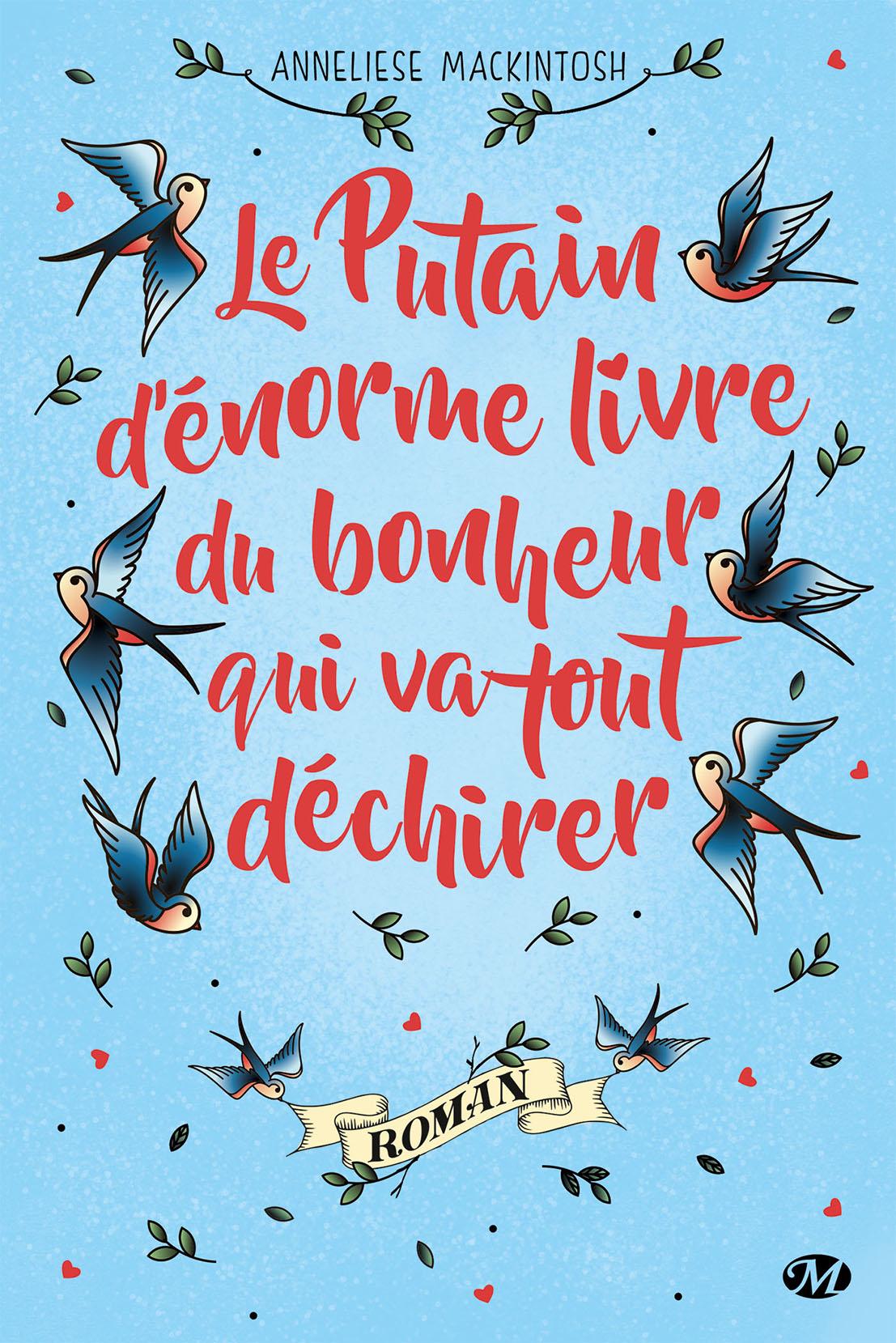 """Couverture du """"Putain d'enorme livre du bonheur"""""""