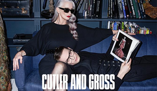 Cutler and Gross eyewear lunettes Les Belles Gueules opticien Bordeaux