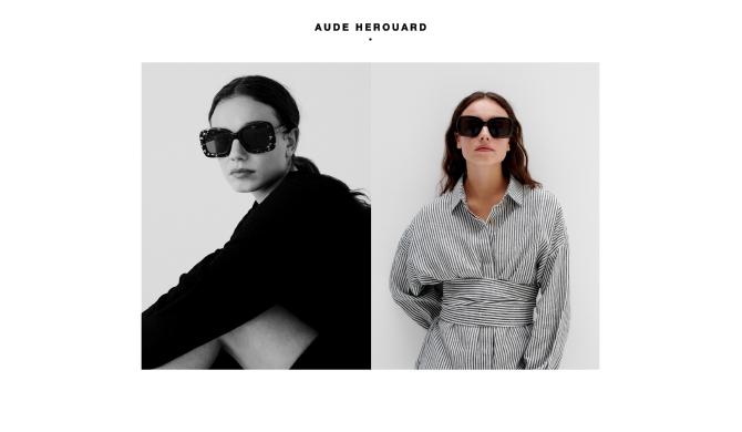Aude Herouard eyewear Les Belles Gueules opticien Bordeaux