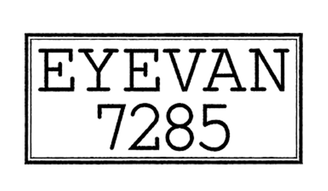 Eyevan 7285 eyewear lunettes Les Belles Gueules opticien Bordeaux